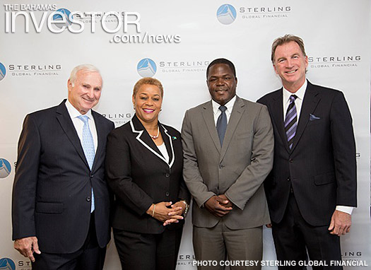 Members of the government, Sterling Global Financial executives