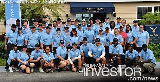 Sandals hosts travel agent golf Tournament | The Bahamas Investor
