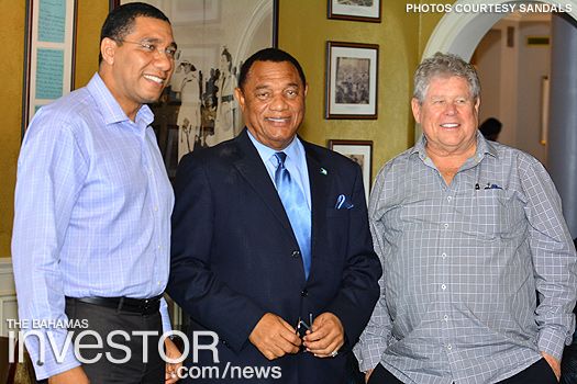 Andrew Holness Perry Christie Gordon 'Butch' Stewart