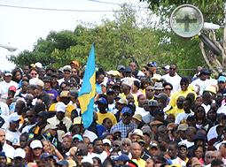 how did majority rule came about in the bahamas