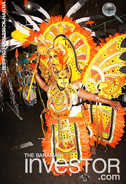 2017 New Year's Day Junkanoo parade