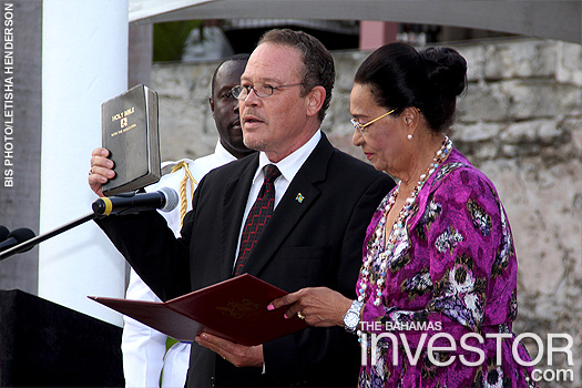 DPM, AG sworn in