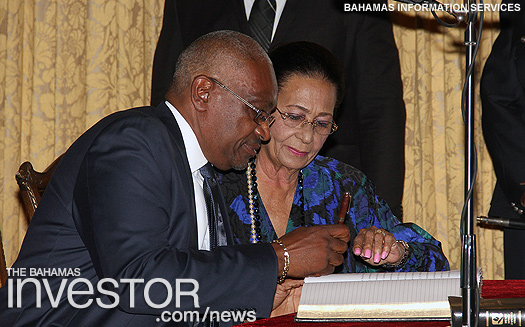 Minnis sworn in as PM