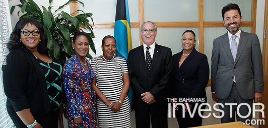 Lombard Odier execs visit FS Minister - photo | The Bahamas