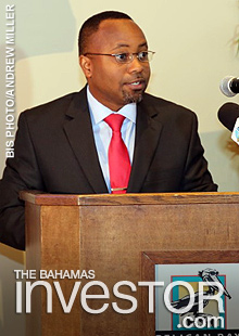 Minister of State for Grand Bahama in the Office of The Prime Ministerr Kwasi Thompson