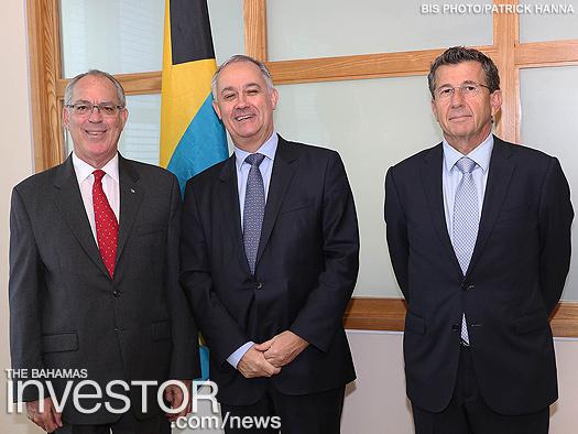 Lombard execs visit FS Minister