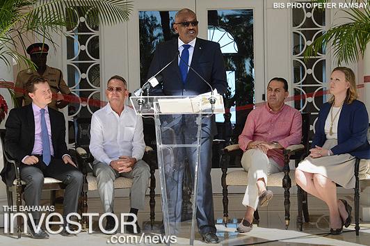 PM opens rebranded Ocean Club