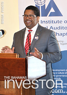 Minister of Finance addresses Institute of Internal Auditors