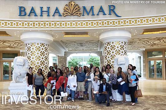 Travel agents experience The Bahamas