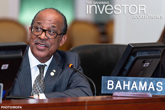 Bahamian envoy elected committee vice-chair of OAS