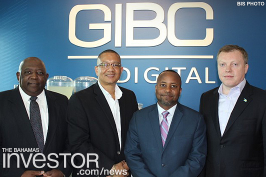 GB Minister tours new GIBC offices