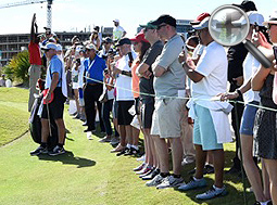 2018 Hero World Challenge tees off