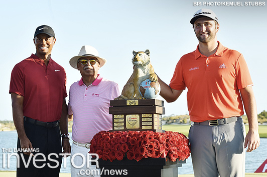 Rahm wins Hero World Challenge trophy