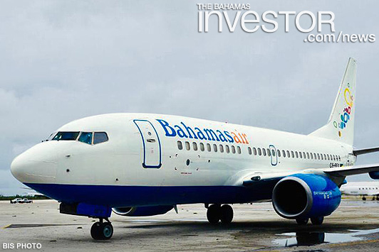 Government officials welcome Bahamasair's new Boeing – photos