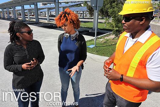 Bahamas' largest solar car park set to open - photo