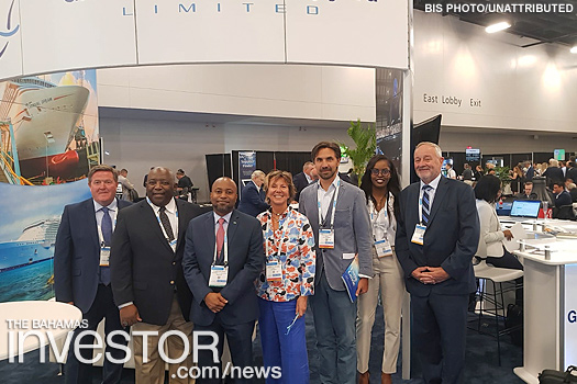 Bahamas attends Seatrade Cruise Global conference
