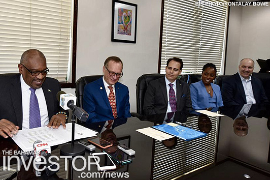 Government signs HOAs with Carnival on projects worth $180m