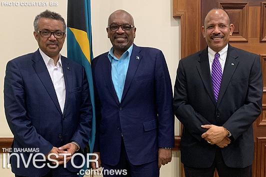 WHO director-general visits The Bahamas