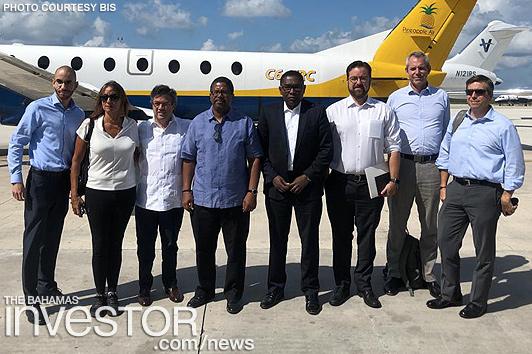 IDB officials visit Abaco