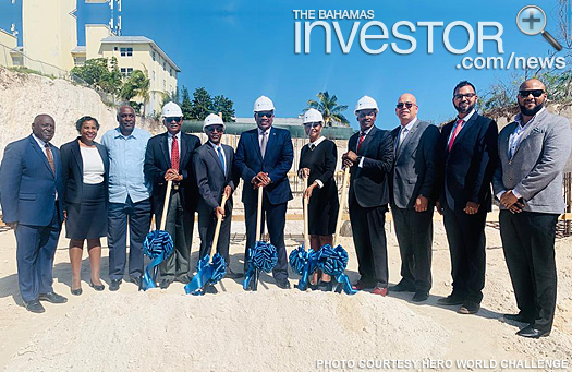 PM breaks ground on corporate centre