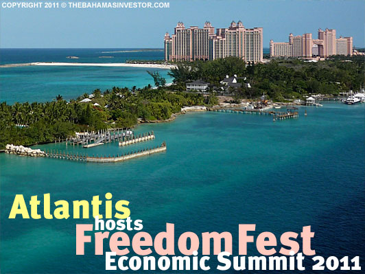 Atlantis hosts FreedomFest Economic Summit 2011