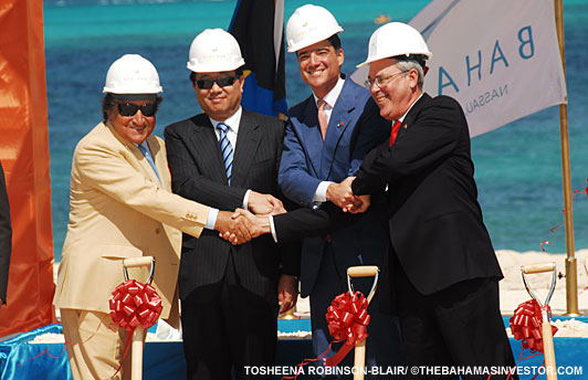 Ground broken on $3.4 billion Baha Mar project
