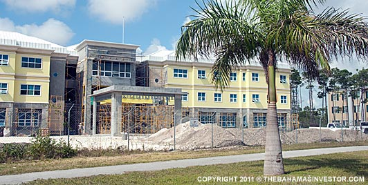 Freeport government complex construction progresses