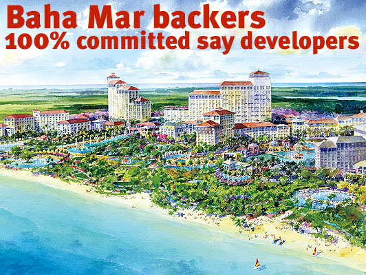 Baha Mar project will be on time, on budget say developers