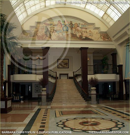 British Colonial Hilton Lobby