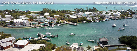 Hope Town, Abaco. The Bahamas