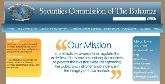 Securities Commission website gets overhaul