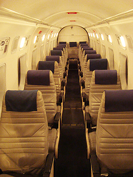Cabin Interior of Beechcraft 1900D