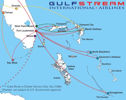 Gulfstream Routes