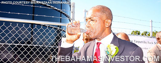 Nassau soon to have sufficient potable water supplies