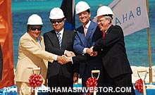 Baha Mar Groundbreaking