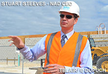 CEO Stuart Steeves