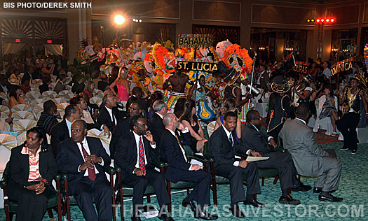 opening ceremony of the Caribbean Hotel and Tourism Association's Caribbean Marketplace conference