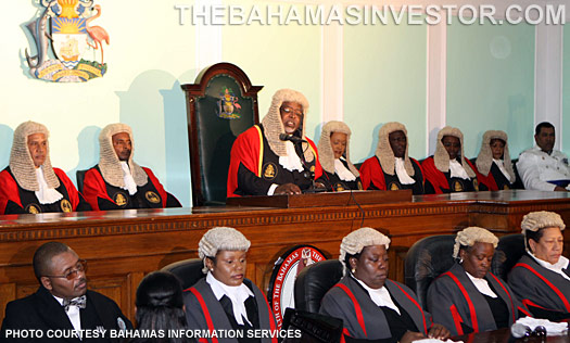 Chief Justice Sir Michael Barnett's