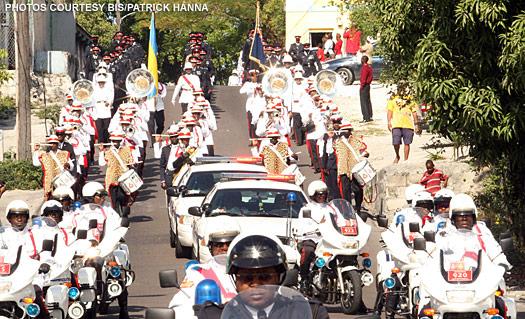 The Royal Bahamas Police Force annual parade