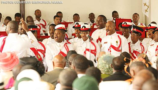 The Royal Bahamas Police Force Choir
