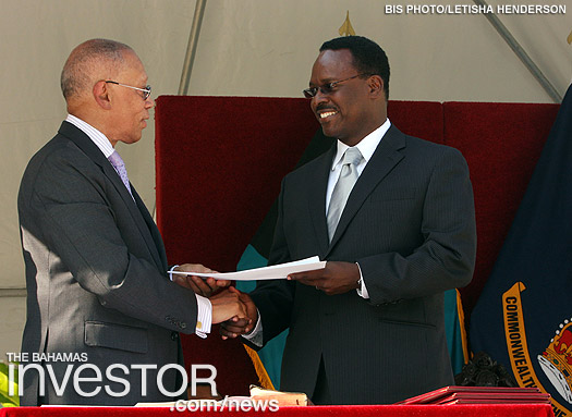Daniel Johnson sworn in as Minister of Youth, Sports and Culture