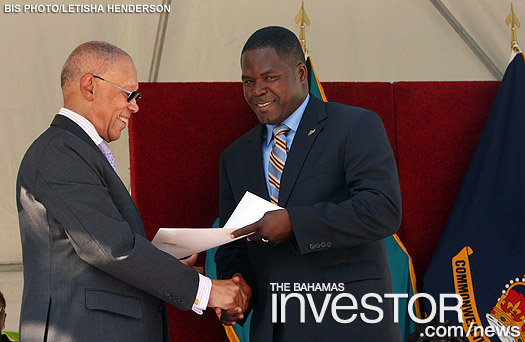 Khaalis Rolle sworn in as Minister of State for Investments in the Office of the Prime Minister