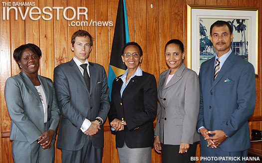 Members of the Maritime Boundaries Delimitation Committee with the Commonwealth Secretariat Assessment Mission