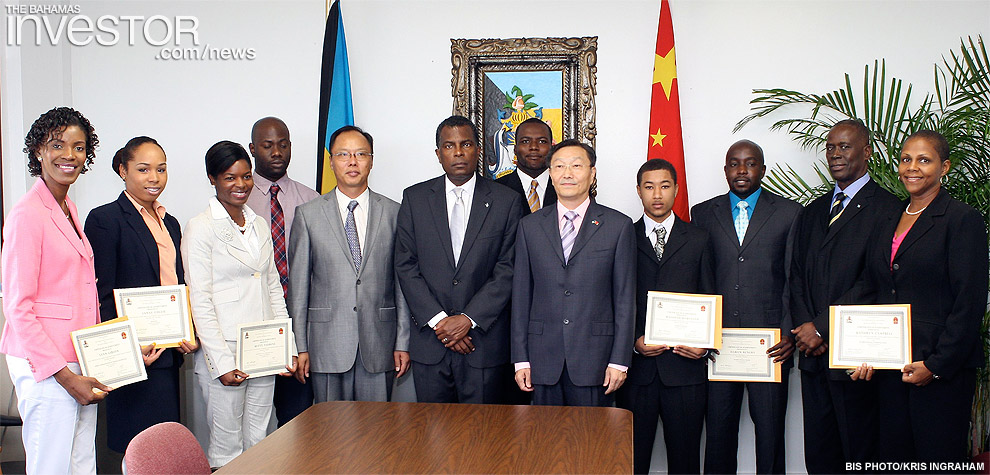 Bahamians receive scholarships to study in China – photos | The