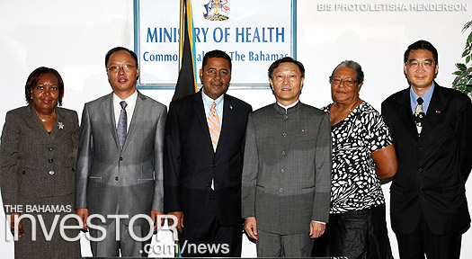 Chinese Ambassador visits Health Ministry