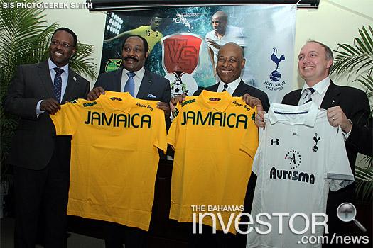 Spurs Jamaica Bahamas