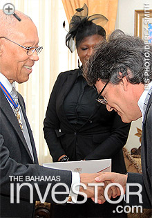 Colombian Ambassador takes up post