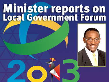 Minister reports on Local Government Forum