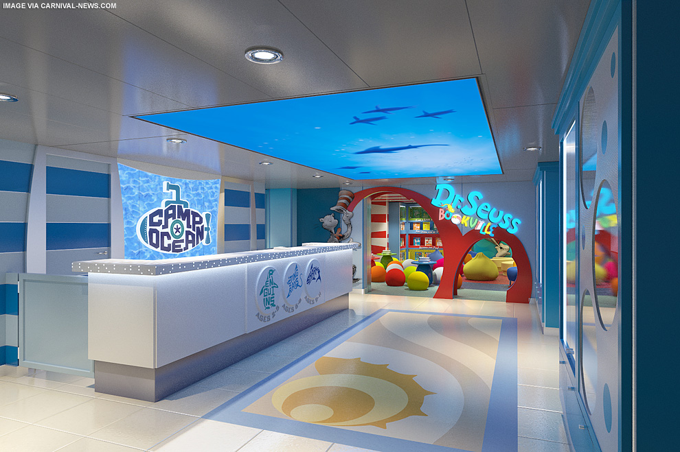Carnival Introduces Marine Themed Children S Program The