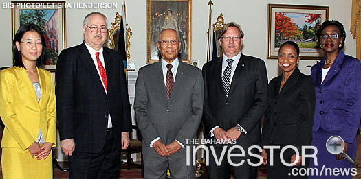 WTO at Governor General Sir Arthur Foulkes at Government House